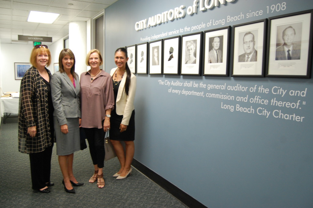 City Auditor Laura Doud Hosts Rotary Roots Luncheon Rotarians at the Office