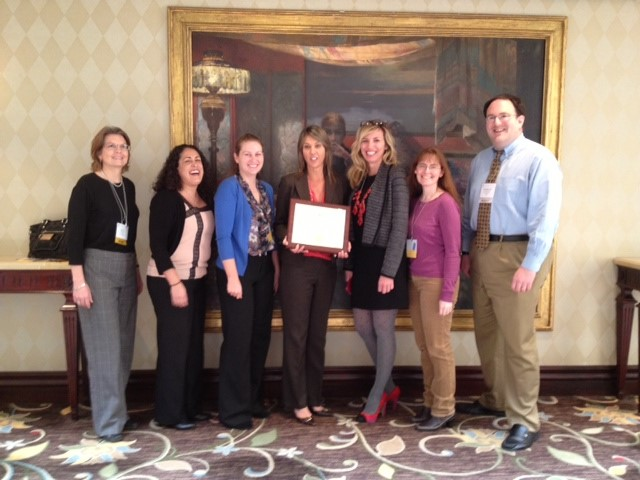 City Auditor Laura Doud & Office Staff receive Audit Award from Association of Local Government Auditors 2013