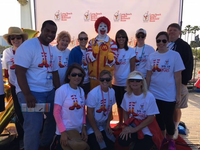 City Auditor Laura Doud & Office Staff at Ronald McDonald House Walk for Kids
